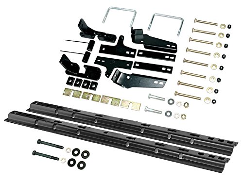 Husky Custom Bracket Install Kit With Rails (31413-86) by Husky