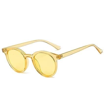 jhinne Gafas de Sol Transparentes Retro Tendencia Tendencia ...