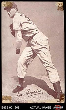 Amazoncom 1947 Exhibits Lou Brissie Philadelphia Athletics