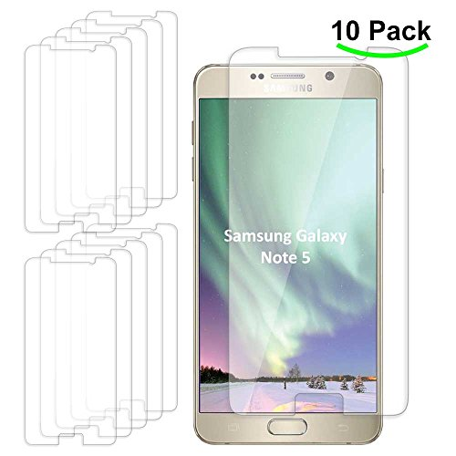 Tempered Glass Screen Protector for Samsung Galaxy Note 5 (Clear) - 7