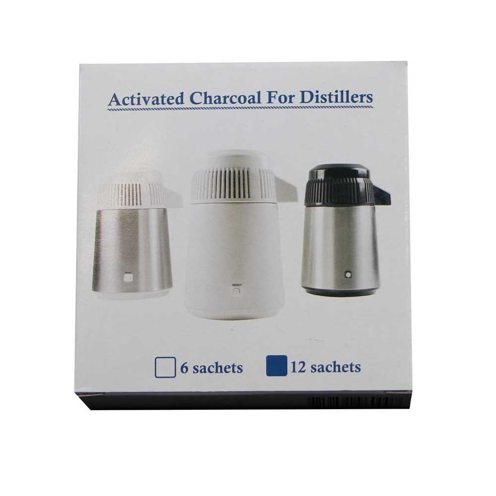 Wasser-Destillierger/ät Aquadist 2G 12x Euronda Aktivkohlefilter Aquadist Wasser-Filter Kohlefilter f
