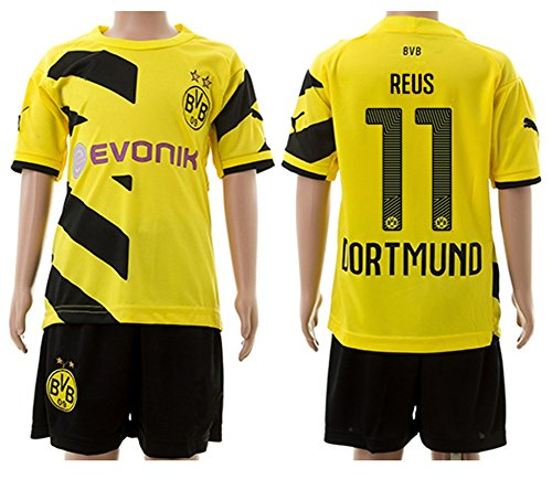 Yellow Football Soccer Jersey Shorts