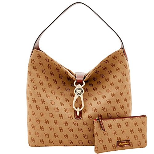 dooney-bourke-madison-signature-logo-lock-sac-bundleamber