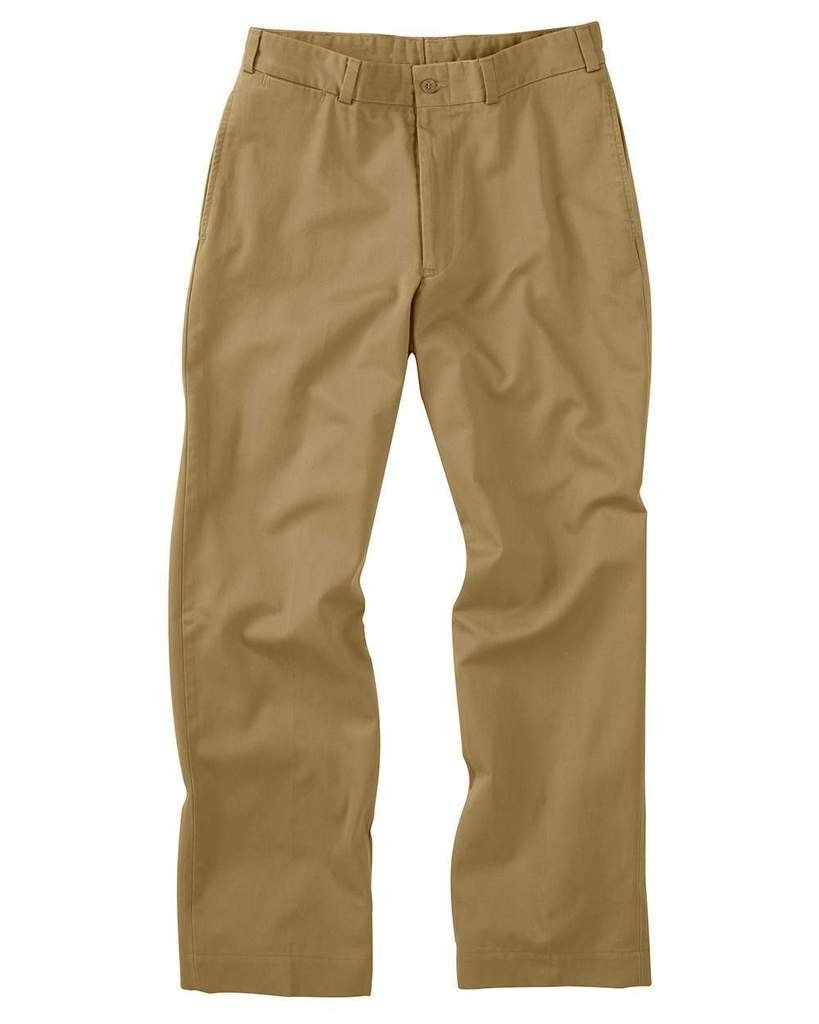 The Fine Swine Men's Bill's Khakis Original Twill M2 Pants 36 British khaki