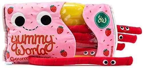 (Kidrobot Yummy World Breezy and the Twists Strawberry Licorice Large Plush - Scented)