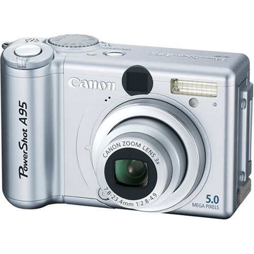 Canon PowerShot A95 5MP Digital Camera with 3x Optical Zoom (Canon Powershot A95 Memory)