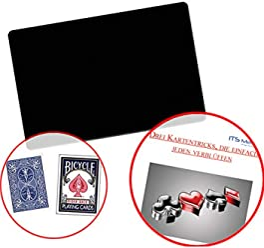 ProTriXX The Turnado Deck Zauber Karten Kartendeck Triumph-Effekt Zauberkarten Karten f/ür Kartentricks Zaubertricks