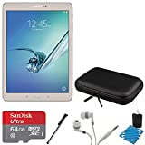 Samsung Galaxy Tab S2 9.7-inch Wi-Fi Tablet (Gold 32GB) SM-T810NZDEXAR 64GB MicroSDXC Card Bundle Includes Galaxy Tab S2 - 64GB MicroSDXC Memory Card - Stylus Stylus Pen - Case for Tablets