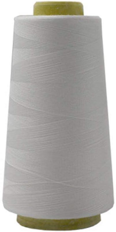 3000 yardas hilo de poli/éster industrial de m/áquina de coser overlock