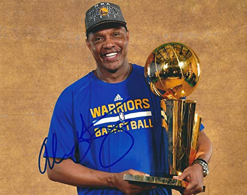 Autographed Alvin Gentry 8x10 Golden State Warriors Photo