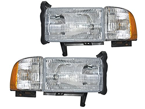 dodge-ram-headlights-oe-style-replacement-headlamps-driver-passenger-pair-new-w-o-sport