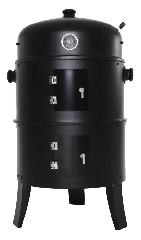 Zenvida Charcoal Grill & Smoker 14 Inch Vertical BBQ Cooker