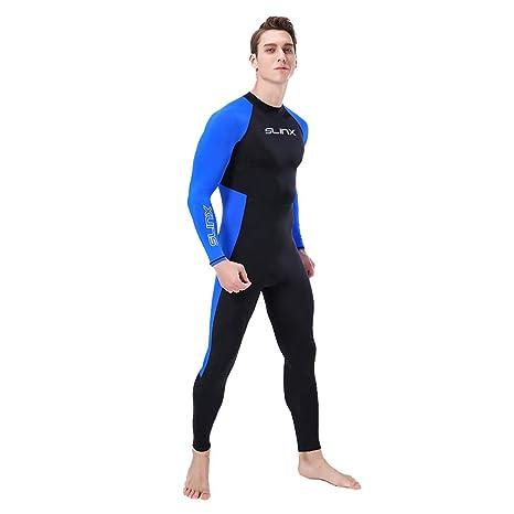 Lomsarsh HOMBRE WetSuit Body Suit Traje de buceo súper ...