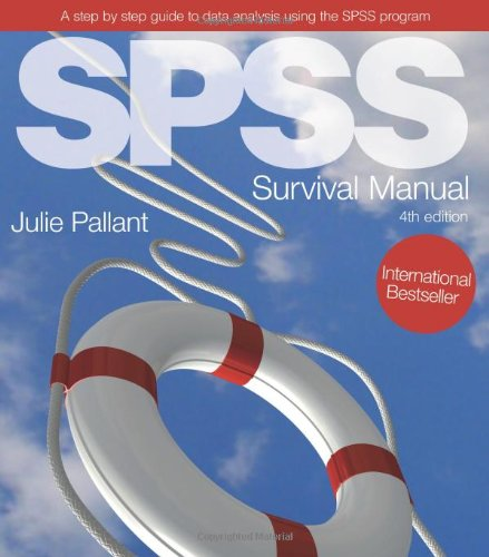 Spss Survival Manual A Step By Step Guide To Data Analysis Using