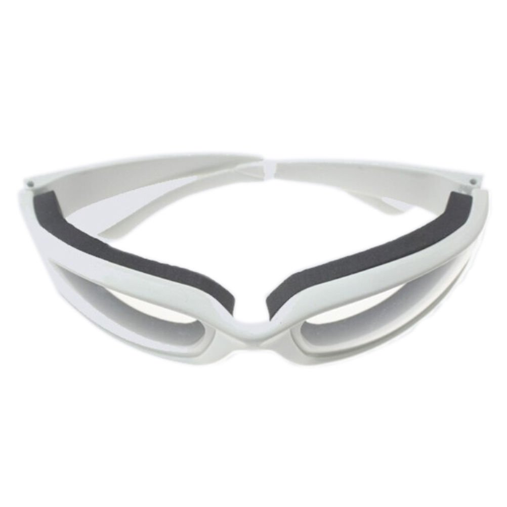 Kitchen Onion Goggles Anti-tear Free Cutting Chopping Eye Protect Glasses WHITE