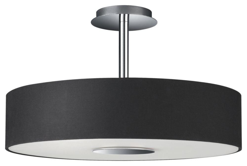 Philips 37481 17 48 Roomstylers Semi Flush Ceiling Light Dark Beige Close To Fixtures Com