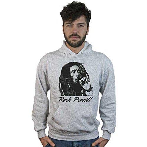 Sudadera Bob Marley Rock Lápiz, Música Reggae, Diseño Estilo lápiz: Amazon.es: Ropa y accesorios
