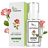 Natural Rose Hair Treatment Oil 1.69 FL OZ 100% Flower Organic Cold Pressed Essential Oil for Dry and Damaged Hair Moisturizer Hexane Free Oil for Women and Men All Hair Type