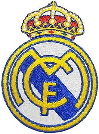 Gemelolandia Parche Termoadhesivo Real Madrid 6,5x5cm: Amazon.es: Ropa y accesorios