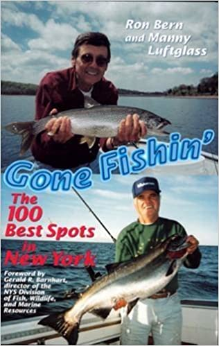 Book Gone Fishin': The 100 Best Spots in New Jersey by Manny Luftglass (1998-10-01)