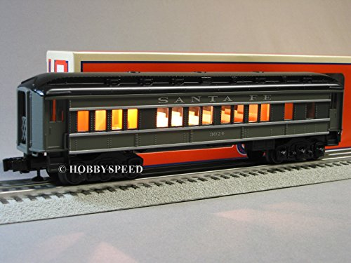 Used, LIONEL SANTA FE BABY MADISON COACH o gauge train passenger for sale  Delivered anywhere in USA
