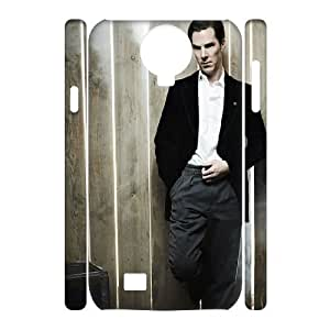 linfenglin Cell phone case Benedict Cumberbatch Hard 3D Case For Samsung Galaxy S4 i9500