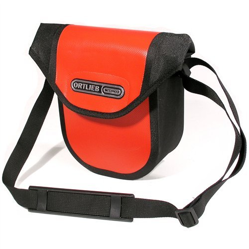 Ortlieb Ultimate 6 Compact Handlebar Bag: Red by Ortlieb