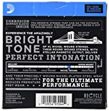 D\'Addario EXL140-3D Nickel Wound Electric Guitar Strings, Light Top/Heavy Bottom, 10-52, 3 sets