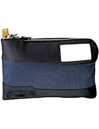 7120D Money Bag with Key Lock 11-1/2 in. Long, Blue