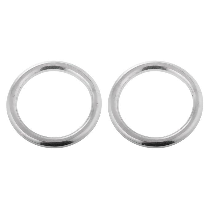 Gazechimp Rundring aus hochwertigem Edelstahl O Ring Bootsport Hardware H/ängematte Befestigung Ringe 10 x 100mm