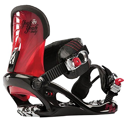 K2 Yeah Yeah Snowboard Bindings Black Womens Sz S (3-6) for sale  Delivered anywhere in USA