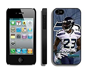 NFL Seattle Seahawks Marcus Trufant iphone 4 4S Casecell phone cases&Gift Holiday&Christmas Gifts NFIU8715840