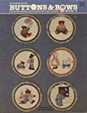 img - for Buttons Bows Counted Cross Stitch Designs for 5