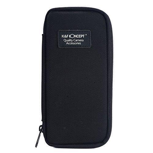 K&F Concept® 6 Fächer Filtertasche Filter Wallet Tasche Objektivtasche für UV FLD CPL Filter