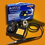 Aoyue 469 Variable Power 60 Watt Soldering Station with Removable Tip Design- ESD Safe