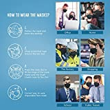 25 Pack KN95 Face Mask, Filter