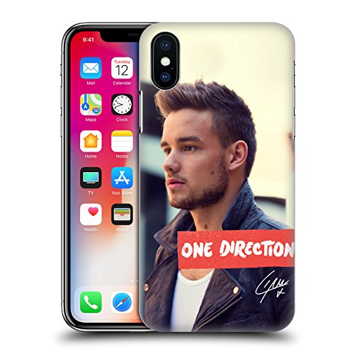 Official One Direction Portrait Liam Payne Photo Hard Back Case for Apple iPhone X