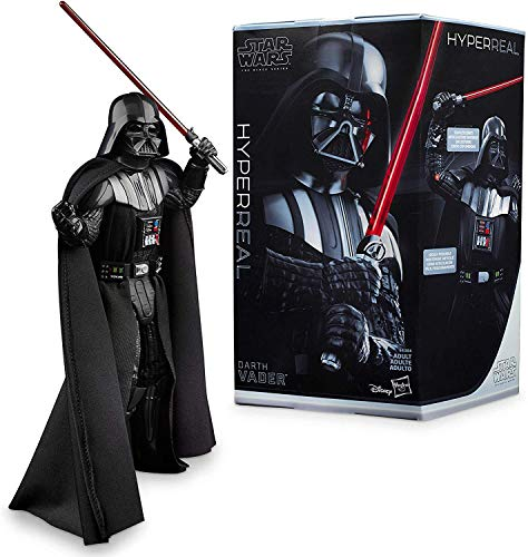 """Star Wars The Black Series Hyperreal Episode V The Empire Strikes Back 8""""-Scale Darth Vader Action Figure - Collectible"""