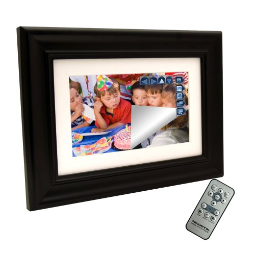 Pandigital 72-W01T 7-inch Touchscreen Digital Picture Frame (Black)