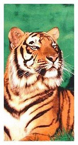 Toalla de baño, toalla de playa, toalla - Tiger - Diseño: Regal Tiger