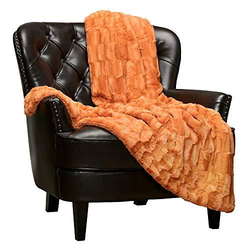 Orange Throw Blanket - 4