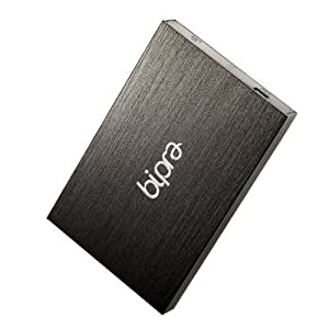Bipra 500GB 2.5 inch USB 2.0 NTFS Portable External Hard Drive - Black by Bipra