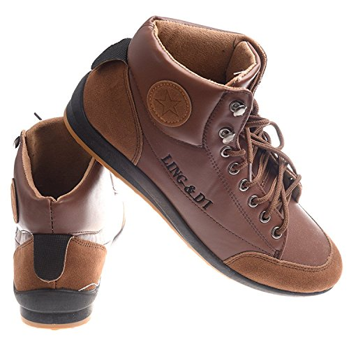 Chaussures 43£© 9 Bottes Casual Taille Haute Brun 9 sport Velours R de UK TOOGOO top Impermeable Chaussures 43£¨US et Hiver EUR Hommes Chaud 5 pPgwn1Y
