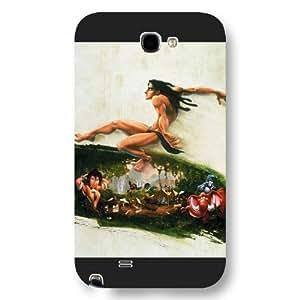 Customized Black Hard Plastic Disney Cartoon Tarzan For Case Samsung Galaxy S4 I9500 Cover