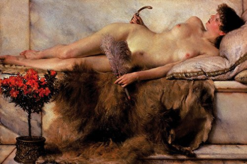 (Sir Lawrence Alma-Tadema Poster Adhesive Photo Wall-Print - in The Tepidarium, 1881 (71 x 47 inches))