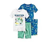 Carter's Boys' Wanted 4-Piece Shirt And Pants Set