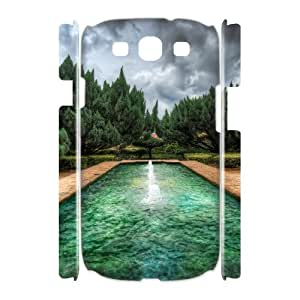 Samsung Galaxy S 3 Case, pool hdr 3D Case for Samsung Galaxy S 3 White