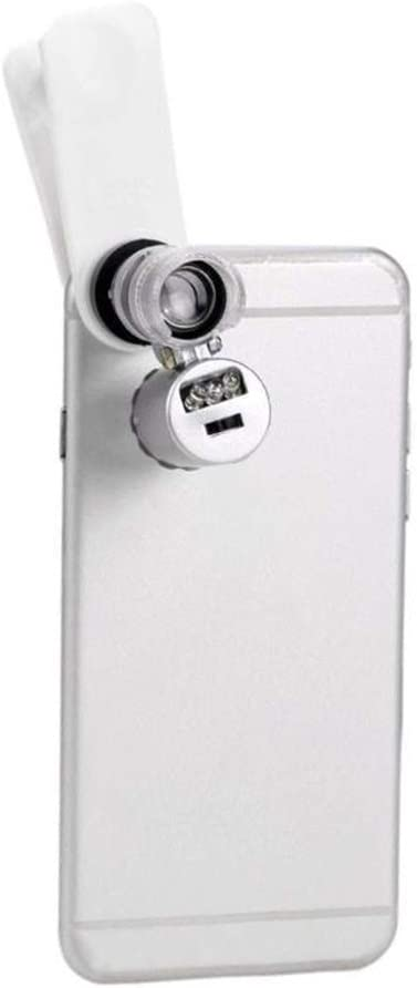 Amazingdeal365 teléfono móvil microscopio Lupa Lente 60 x óptico ...