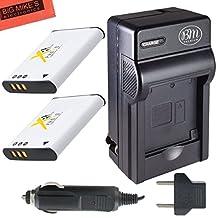 BM Premium 2-Pack OF LI-50B, LI50B, LI-50, LI50 Batteries & Battery Charger for Olympus Stylus SH-25MR, SP-720UZ, SP-800UZ, SP-810UZ, SZ-10, SZ-12, SZ-15, SZ-16 iHS, SZ-20, SZ-30MR, SZ31MR iHS, TG-610, TG-630 HIS, TG-810, TG-820, TG-830 HIS, TG-850, TG-850 IHS, TG-860, VG-190, XZ-1, XZ-16 iHS Digital Camera + More!!
