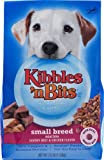Kibbles 'N Bits Dog Food Small Breed Mini Bits Savory Beef and Chicken Flavor